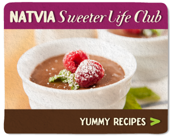 For Sugar Free Recipes, Check out the Natvia Sweeter Life Club
